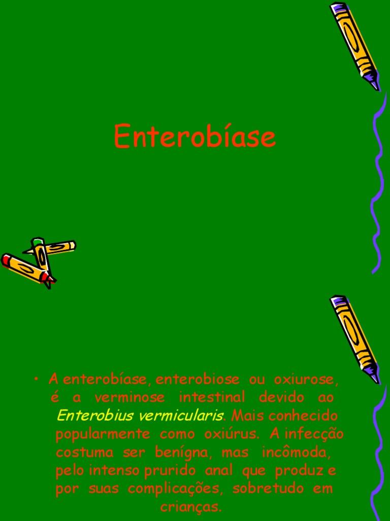 O que e oxiuros enterobiose) - anaairporthotel.ro