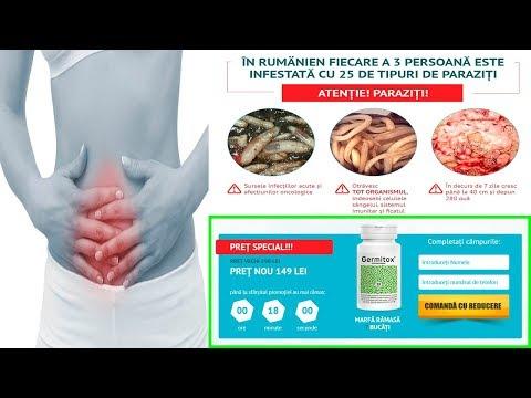 infestarea cu paraziţi intestinali înseamnă