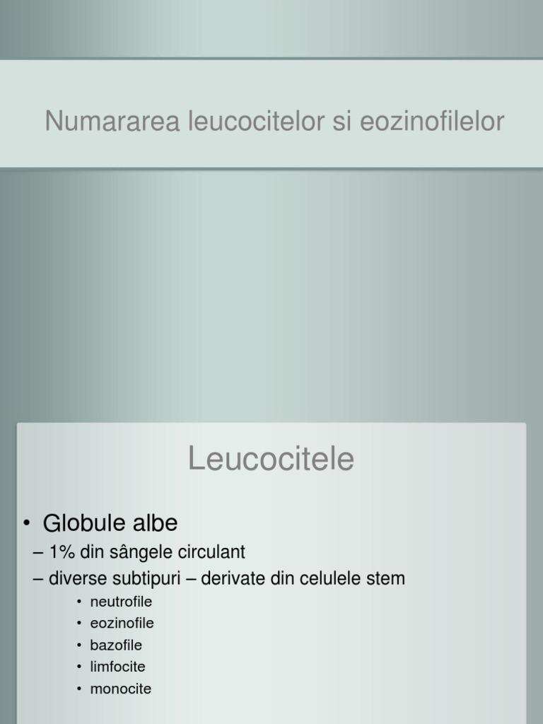 tratamentul eozinofilelor)