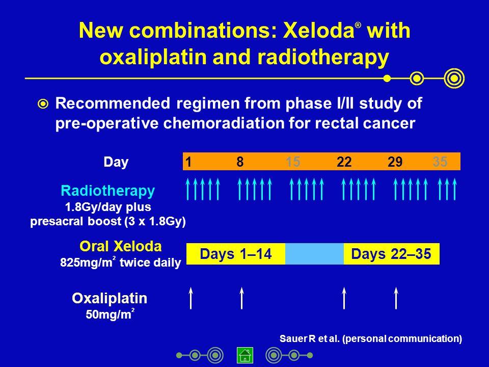 rectal cancer xeloda remedii de vierme dulci