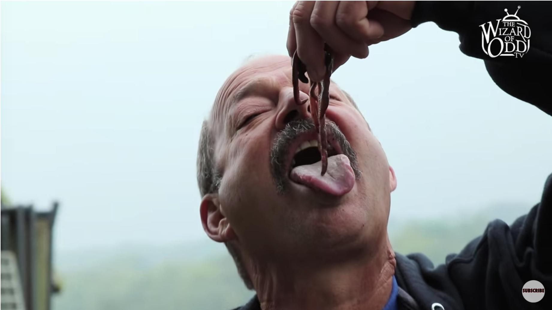 Viermi când nu mănânci