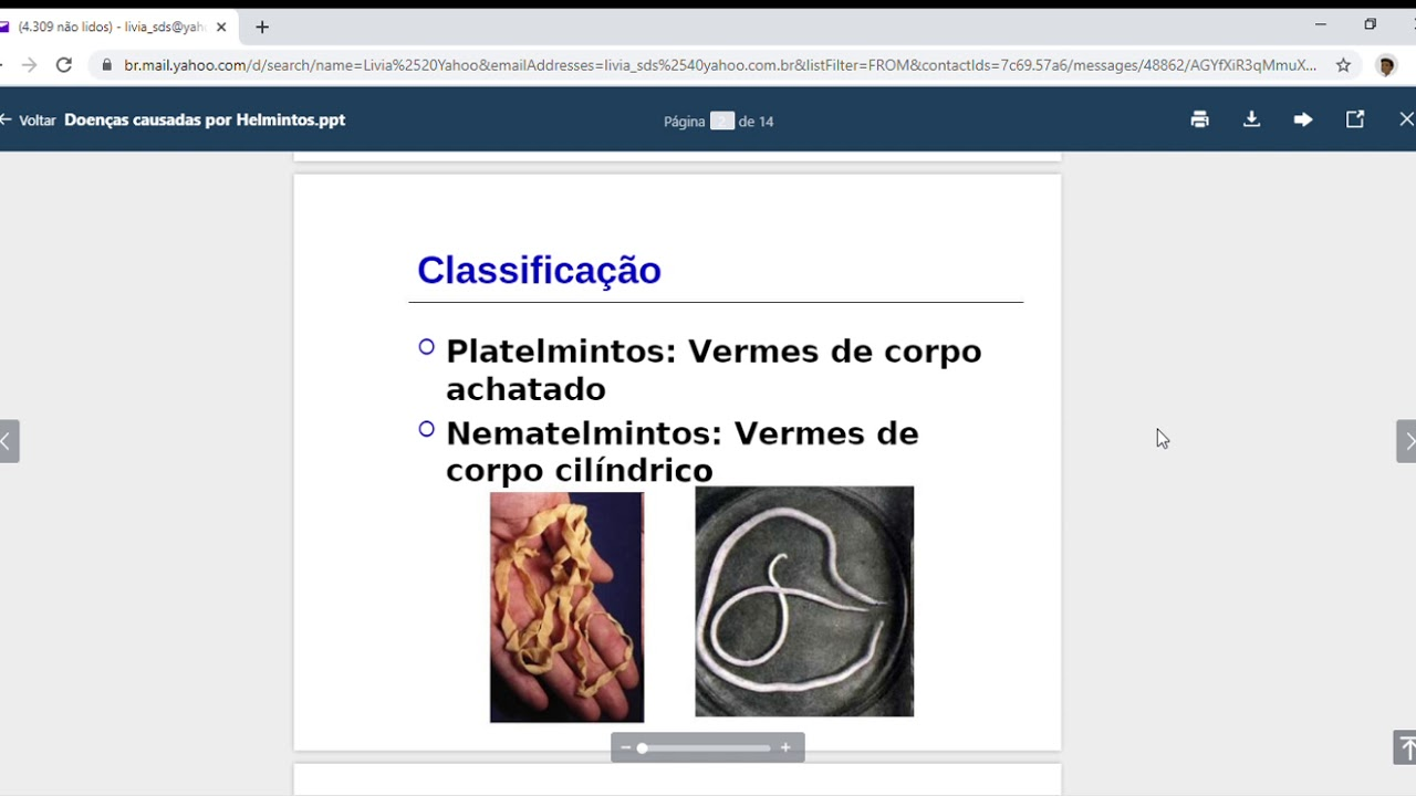 ppt helmintologie