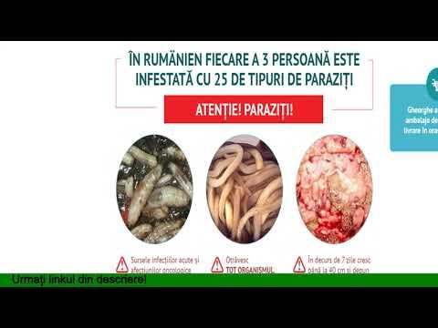paromomicină pentru paraziți