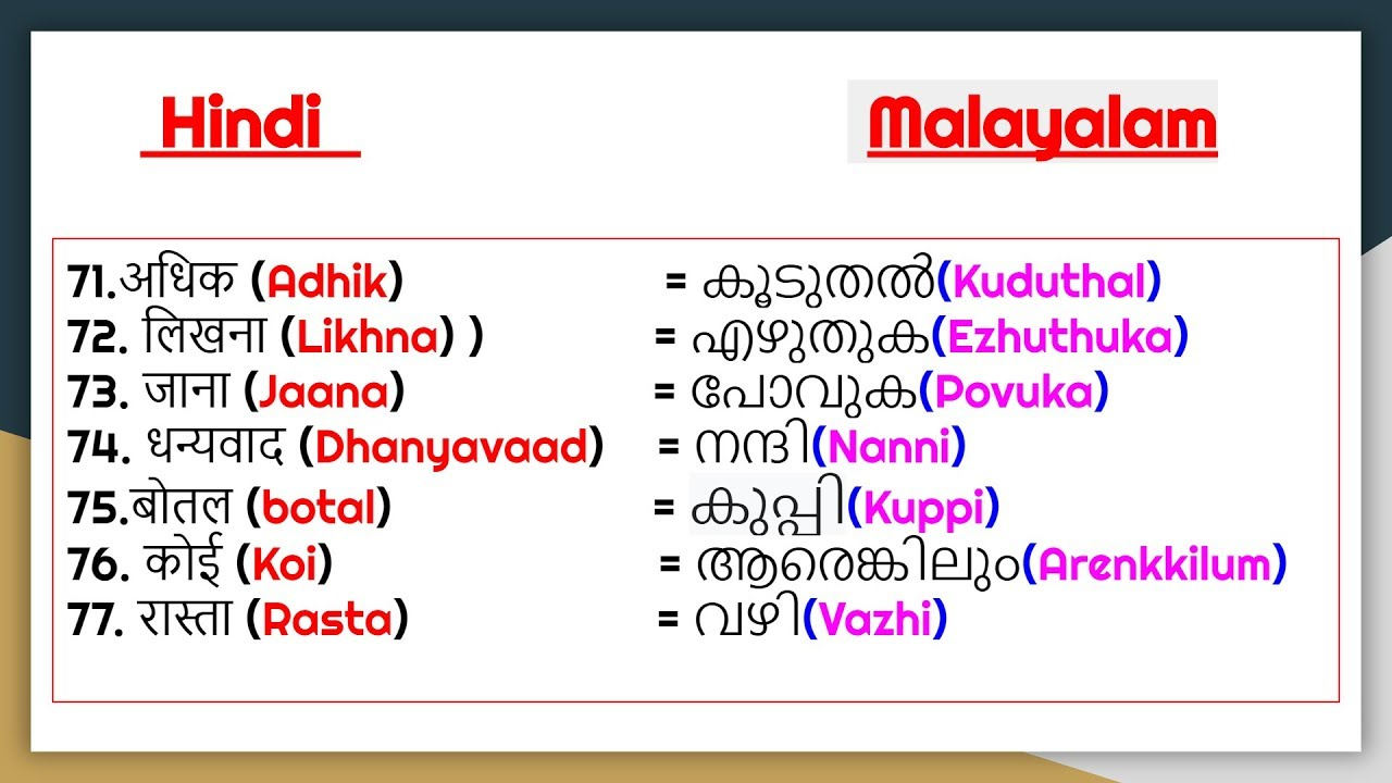 papilloma meaning in malayalam