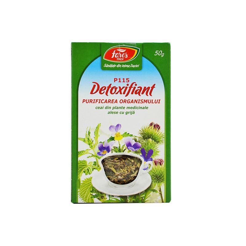 detoxifierea organismului ceai)