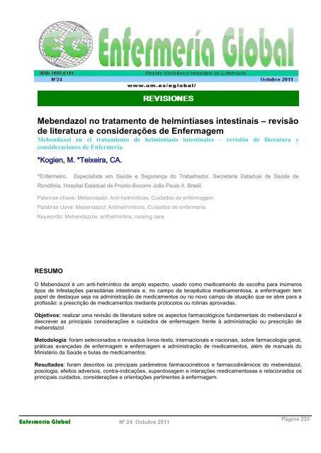 metodologia helmintiazei