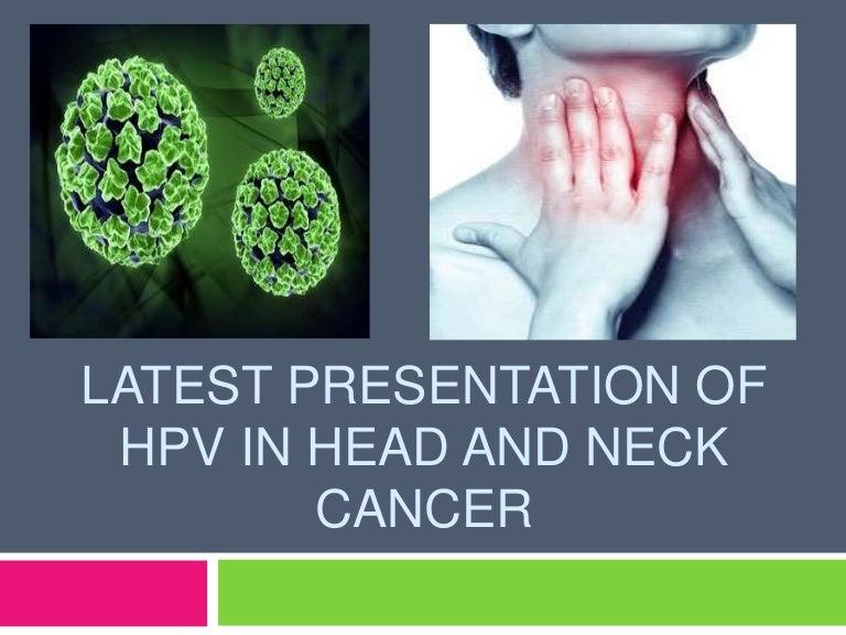 hpv and neck cancer tezka anemie v tehotenstvi