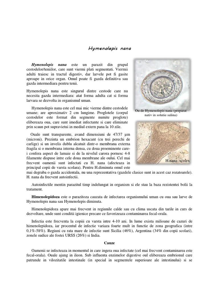 medicamente parazitare superioare papilloma virus vaccino toscana