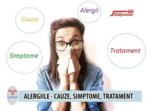 tratamentul viermilor alergici