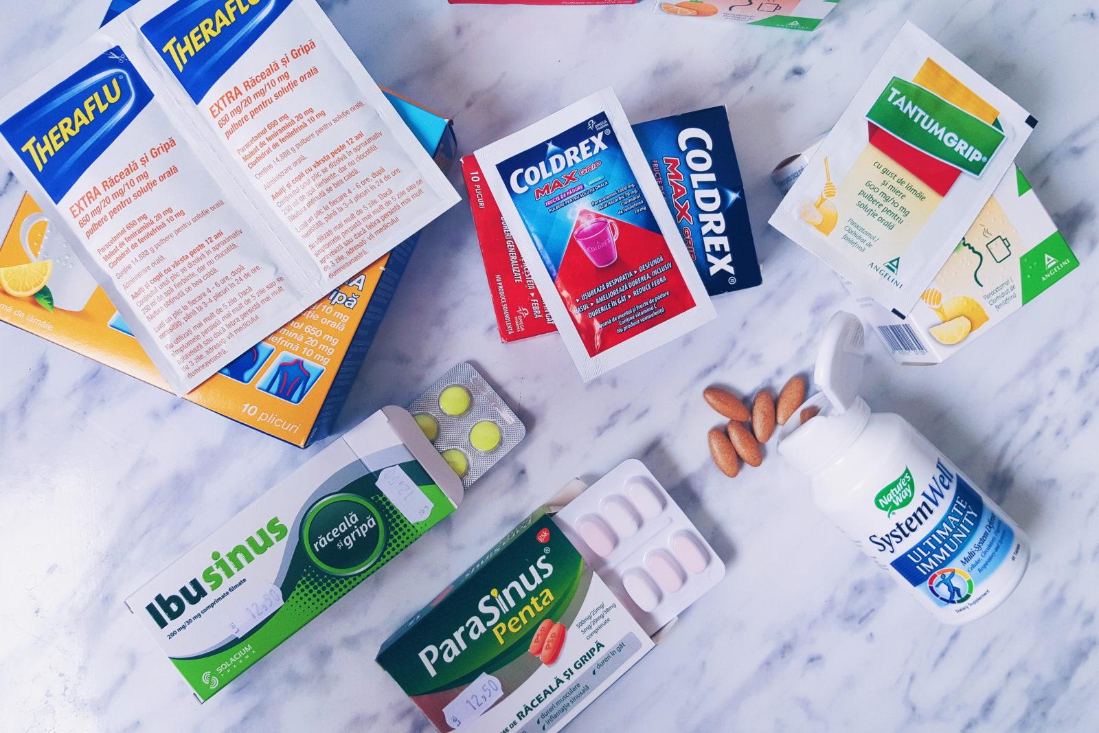 gripa tratament