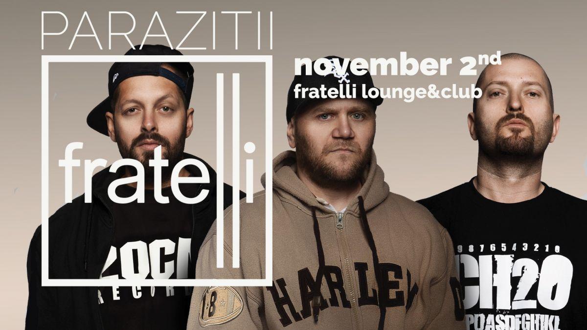 15 Noiembrie / Concert Parazitii / Cluj / Euphoria Music Hall - Muzica HipHop / Rap | HipHopLive