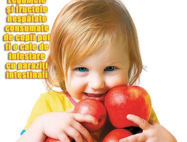 Viermi în prevenirea copilului
