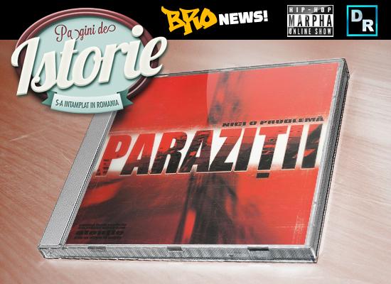 PARAZITII - NICI O PROBLEMA (cd) | lei | Rock Shop