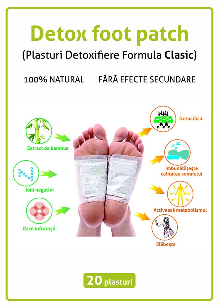 2 + 2 Gratis Plasturi slabit Wonder Patch + Plasturi Detoxifiere