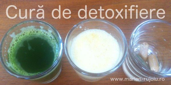 reteta de detoxifiere a organismului
